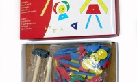 Wooden Toys | Tap a Shape with Hammer and Nails