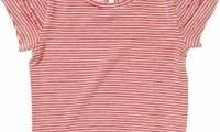 Purebaby T-Shirt | Mini Ruffle Sleeve