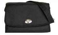 Black Nappy Bag | Lillybit Diaper Clutch