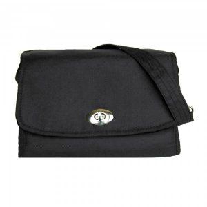 black nappy bag