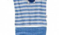 Purebaby Boys Pyjamas | Drift Stripe