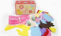 Kids Sewing Kit in Suitcase
