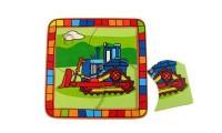Wooden Bulldozer Puzzle | Kaper Kidz