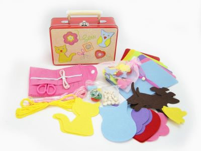 kids sewing kit