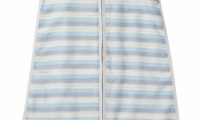 Purebaby Summer Sleeping Bag | Muslin | 0.3 tog | Harvest Stripe