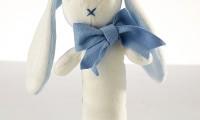 Maud n Lil | Organic rattle |Blue