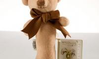 Maud n Lil | Organic rattle | Bear