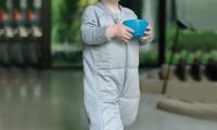 ErgoPouch 3.5 tog winter sleeping suit | Grey