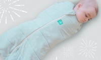 ErgoCocoon winter swaddle and sleeping bag | 2.5 tog | 3-12 mths