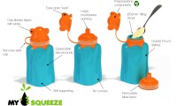 My Squeeze| Reusable Food Pouches