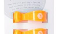 Pram Pegs | Fluro Orange