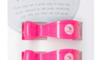 Pram Pegs | Pink Fluro