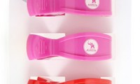 Pram Pegs | Pink and Red