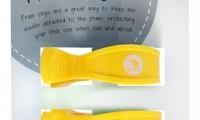 Pram Pegs | Yellow