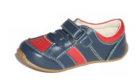 Skeanie Shoes | Trainers | Navy and Red