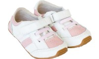 Skeanie Shoes | Trainers | Pink and White