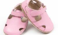 Skeanie Shoes | Pre-walker | Sunday Sandals | Pink