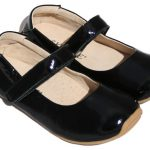 Skeanie Shoes | Mary Jane | Patent Black