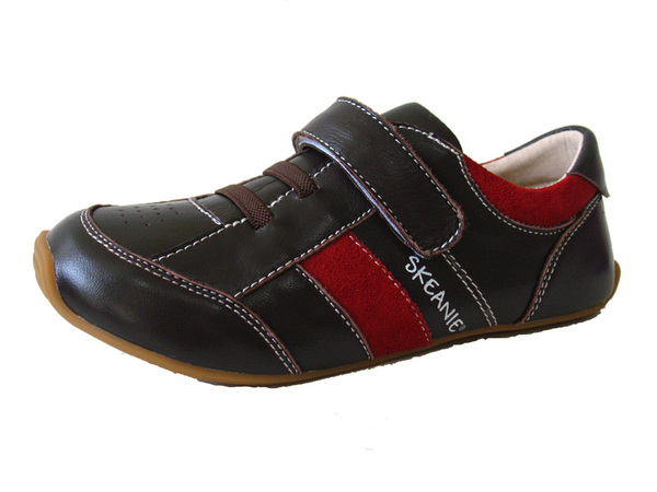 Skeanie Shoes | Trainers | Brown and Red