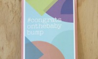 Baby Shower Card | Baby Bump | Sprout and Sparrow