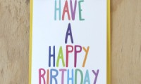 Happy Birthday Card | Sprout and Sparrow