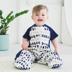 Navy Paint Sleep Suit Bag | ErgoPouch sleeping bag | 1.0 tog