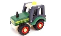 Wooden Green Tractor