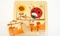 Ladybird Puzzle | Wooden Toys