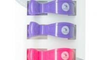 Pram Pegs | Fluro Pink and Purple | Pack of 4