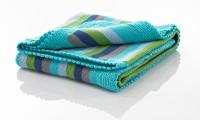 Pebble | Baby Blanket | Blue Stripes