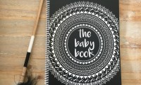 Baby Book to Five Years | Black | Forever 3