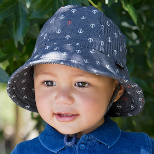 e06cfbbe BedHead Hats | Baby and Kids Bucket Hat| Anchor | Frombabytokids.com.au