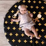 black-and-gold-crosses-play-mat
