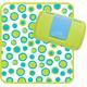 Retro circle nappy wallet