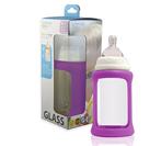 Glass-Baby-Bottle-240ml-Single-Purple-S