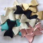 Little Circus- leather bows
