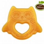 Haakaa natural rubber teether- owl
